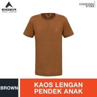 Eiger Kids Burton Scout T-shirt - Brown - M