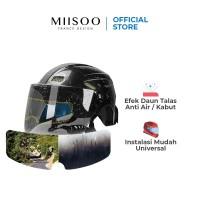 MIISOO Rainning Anti Fog Embun Helm Film Anti Air Hujan Stiker