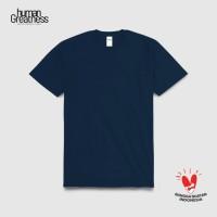 Kaos Polos Premium T-Shirt Human Greatness - Navy