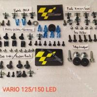 baut full body vario 125/150 led / baut lengkap fullset body vario 125