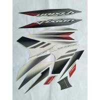 stiker striping yamaha vixion new 2014 putih