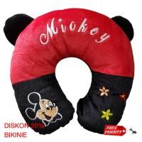Bantal Leher / Neck Pillow / Bantal U / Bantal Mobil Mickey Mouse
