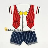 Setelan Anak Bayi Laki Laki 1thn Set Pakaian Baby Baju Bayi Stelan