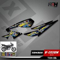Striping Vixion Old - Stiker Variasi Lis Motor Motif Thailook 06