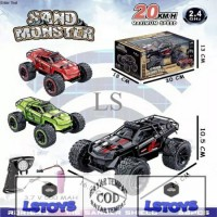Mobil Remote Control Ban Besar Sand Monster 1:16 Rc Offroad keren