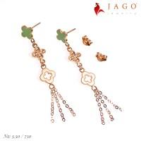 Jago Jewelry Anting Emas Myria - Perhiasan Emas 17K-W