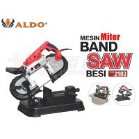 ALDO2103 portable miter bandsaw for metal mesin band saw aldo