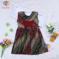 (Batik) Dress Cantika uk 3-4 Tahun / Model Cewek Baju Anak Perempuan