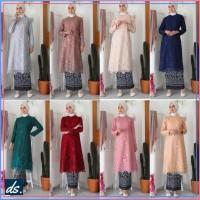 Atasan Baju Muslim Tunik Wanita Kebaya Modern Baju Pesta Lebaran