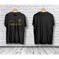 Kaos Baju Bola Kaos Fc Barcelona Bahan Cotton Combed 30s
