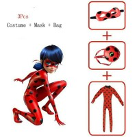Baju Anak Ladybug Miraculous / Costume Kostum Lady Bug Miraculous CG15