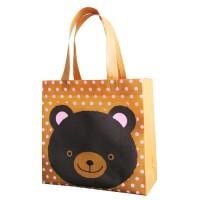 Goodie Bag Spunbond Animal Souvenir Ulang Tahun Anak Beruang
