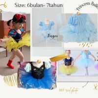 Jusyco Princess baby ballet dress / Dress tutu ballet anak