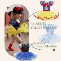 Parishkids Princess baby ballet dress / Dress tutu ballet anak