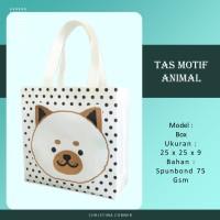 Goodie Bag Spunbond Animal Souvenir Ulang Tahun Anak Musang