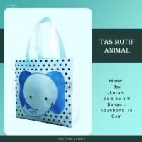 Goodie Bag Spunbond Animal Souvenir Ulang Tahun Anak Gajah