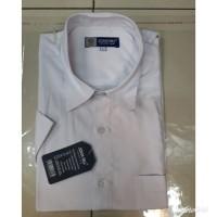kemeja putih polos lengan pendek /alisan /formal /baju pria/hem pria