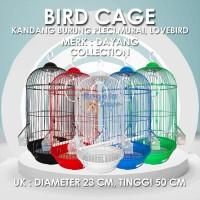 SANGKAR BURUNG / KANDANG BURUNG PLECI MURAI LOVE BIRD - BESI