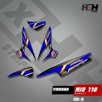 Stiker Striping MIO SPORTY Variasi 01 Desain Racing