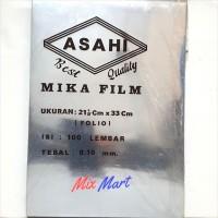 Mika Jilid Film Asahi ukuran A4 / F4 tebal 0.10 mm - A4