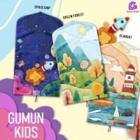 Sajadah Travel Anak GUMUN KIDS Premium Anti-Slip Waterproof Praktis