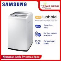 WA80H4200SW SAMSUNG WOBBLE Top Loading 8 Kg
