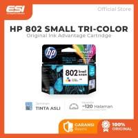 HP 802 Small Tri-color Original Ink Cartridge (CH562ZZ) TRICOLOR