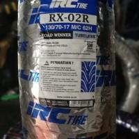 Ban Motor IRC 130 70 - 17 RX - 02 ROAD WINNER TUBELESS