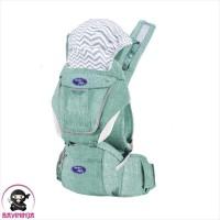 BABYSAFE Hip Seat Carrier Criss Cross Gendongan Bayi Anak - Green