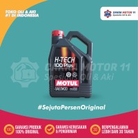 MOTUL H-TECH 100 PLUS 0W20 4LT