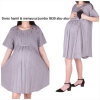 Baju Hamil Dress 1839 Jumbo
