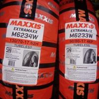 Paket ban Maxxis 90 80 - 17 dan 130 70 - 17 Extramaxx Tubless