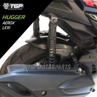 Aksesoris Variasi Hugger Spakbor Kolong Yamaha Aerox Lexi