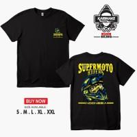 Kaos Baju SUPERMOTO RIDER KLX D'TRACKER CRF WR150 Kaos Otomotif