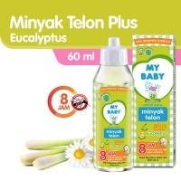 My Baby Minyak Telon Plus Eucalyptus - Minyak telon my baby