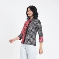 Mixmatch Garut T0752, Baju atasan kerja blouse batik - XL