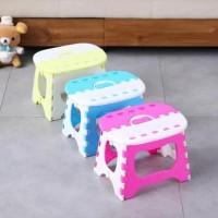Bangku Lipat Anak BSR-02 Kursi Lipat Mini Plastik Foldable Chair