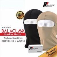 Balaclava Maguno Sarung kepala helm motor Masker Ninja bikers adem