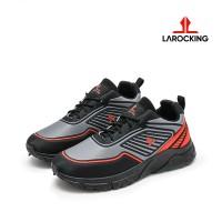 Larocking - Cosmo Abu | Sepatu Sneakers Running Gym Shoes Sports - Abu, 39