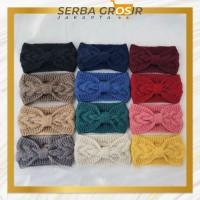 S133 Bando Rajut Wool Pita / Head Band Cantik Korea / Bando Fashion