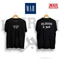 Kaos Distro HIJRAH Baju Dakwah Pria dan Wanita WAR PRODUCT