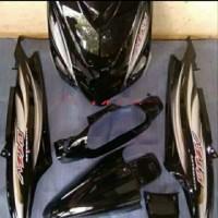 PROMO Full Body Halus Yamaha Mio Sporty plus striping hitam