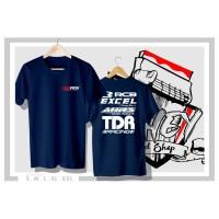 Kaos Baju RCB 1 Racing Boy Excel Takasago Rim AHRS Logo TDR Racing
