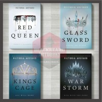 Buku Red Queen -Glass Sword -KIng's Cages -War Storm by Victoria -BA - King's Cages SC