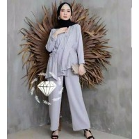 Grosir Setelan Baju Set Wanita Muslim Murah Stelan Dewasa kekinian