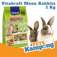 Makanan Kelinci Vitakraft MENU Vital Rabbits 1 Kg