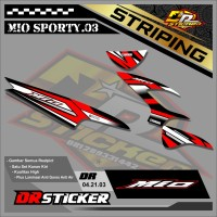 93 (COD) STRIPING STICKER MIO SPORTY DESAIN LIS RACING SEMI FULL 03