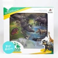 Mainan Hewan Anak Edukasi Animal Kingdom - Habitat Set 6 Jenis Hewan