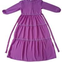 baju gamis anak perempuan renda murah usia 9-10 tahun