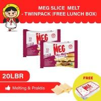 MEG Slice Melt 10 lembar Twin Pack - Free Lunch Box